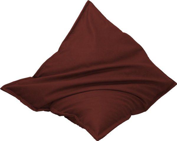 Drop & Sit Leather look zitzak 100 x 150 cm - Bordeaux