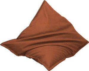 Drop & Sit Leather look zitzak 100 x 150 cm - Terra