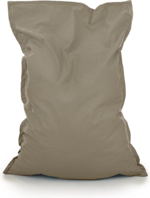Drop & Sit Zitzak Stof - Donkergroen - 100x150 cm - Voor Binnen