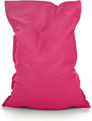 Drop & Sit Zitzak Stof - Fuchsia - 130x150 cm - Voor Binnen
