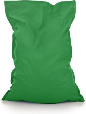 Drop & Sit Zitzak Stof - Groen - 115x150 cm - Voor Binnen