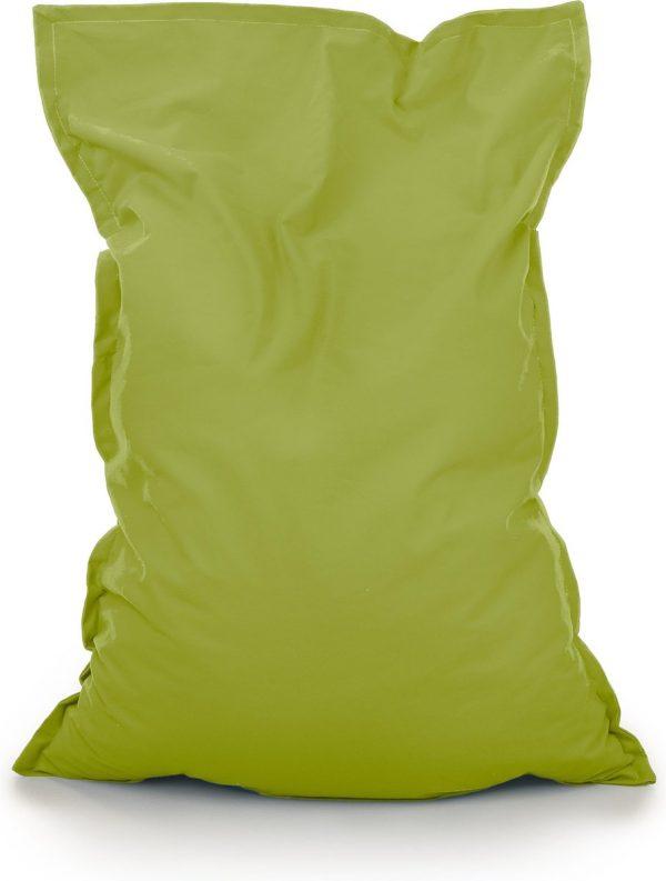 Drop & Sit Zitzak Stof - Lime Groen - 100x150 cm - Voor Binnen