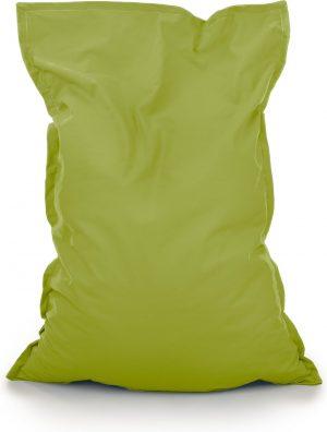 Drop & Sit Zitzak Stof - Lime Groen - 130x150 cm - Voor Binnen