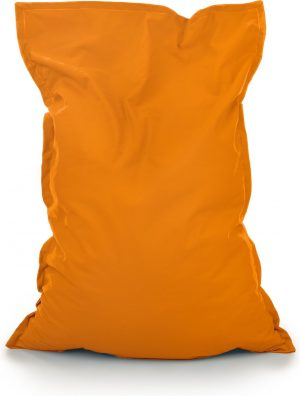 Drop & Sit Zitzak Stof - Oranje - 100x150 cm - Voor Binnen