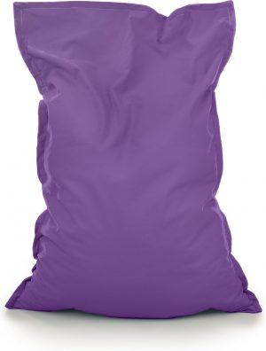 Drop & Sit Zitzak Stof - Paars - 100x150 cm - Voor Binnen