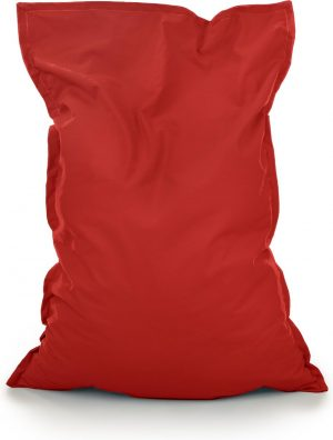 Drop & Sit Zitzak Stof - Rood - 115x150 cm - Voor Binnen