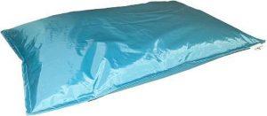 Drop & sit zitzak - Turquoise - 100 x 150 cm - binnen en buiten