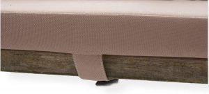 LuLu- Set van 2 Kussens Picknicktafel 180 x 30 cm |Taupe, Beige| Waterafstotend