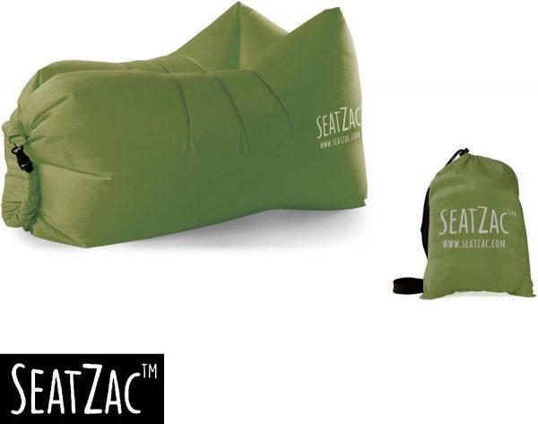 Zitzak- Seatzac - Groen - Donkergroen - 110 x 80 x 70 cm