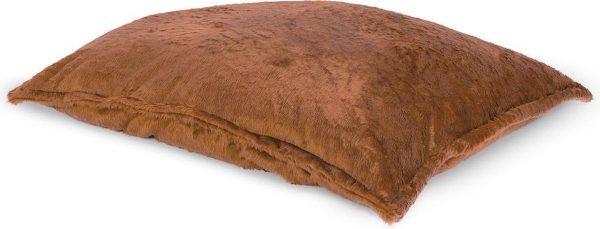 Drop & Sit Furry Zitzak - Camel - 130 x 150 cm - Voor Binnen