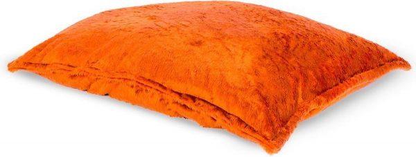 Drop & Sit Furry Zitzak - Oranje - 115 x 150 cm - Voor Binnen
