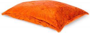 Drop & Sit Furry Zitzak - Oranje - 130 x 150 cm - Voor Binnen