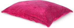 Drop & Sit Furry Zitzak - Roze - 130 x 150 cm - Voor Binnen