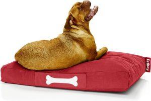 Fatboy Doggielounge Stonewashed Groot Hondenkussen Rood
