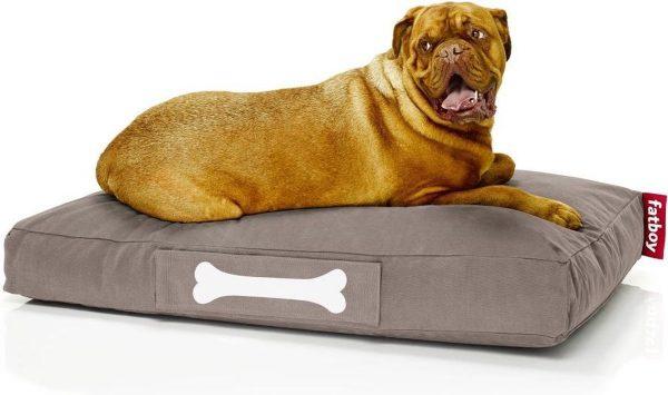 Fatboy Doggielounge Stonewashed Groot Hondenkussen Taupe