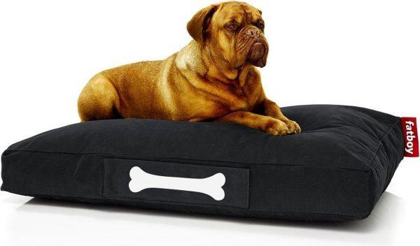 Fatboy Doggielounge Stonewashed Groot Hondenkussen Zwart