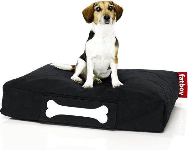 Fatboy Doggielounge Stonewashed Klein Hondenkussen Zwart
