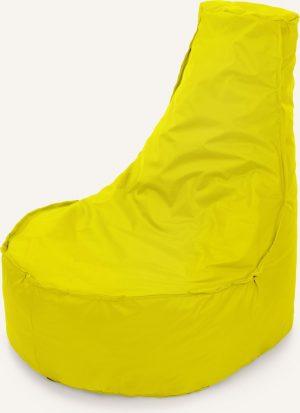 Drop & Sit Noa Zitzak - Geel - 100 Liter
