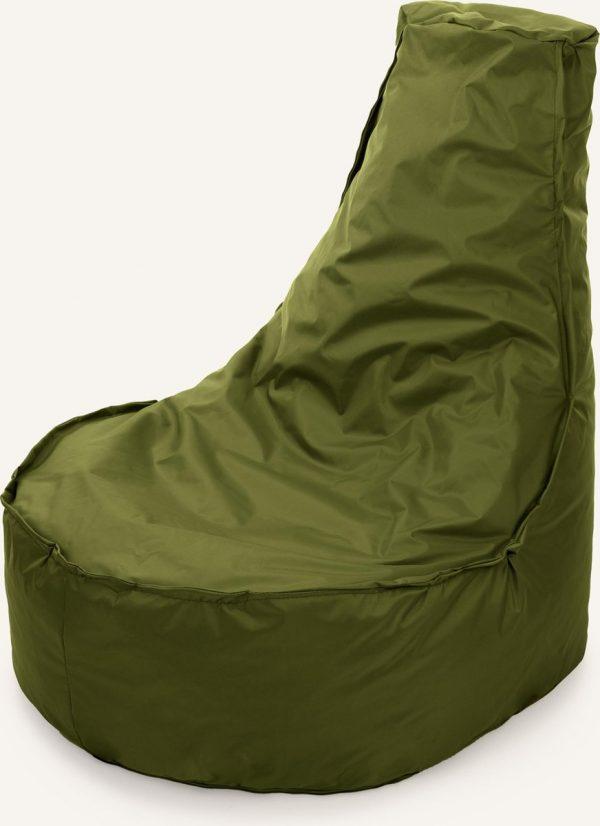 Drop & Sit Noa Zitzak - Olijf - 100 Liter