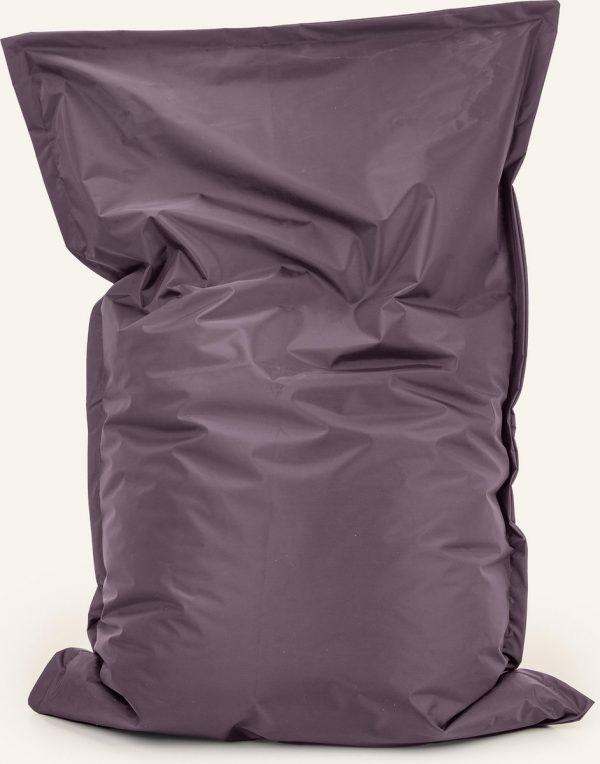 Drop & Sit Zitzak Nylon - Aubergine - 100 x 150 cm