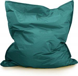 Drop & Sit Zitzak Nylon - Smaragd- 130 x 150 cm