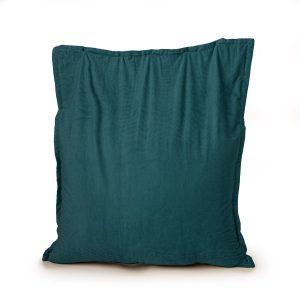 Drop & Sit Zitzak Ribstof - Emerald Groen - 100 x 150 cm - Voor Binnen