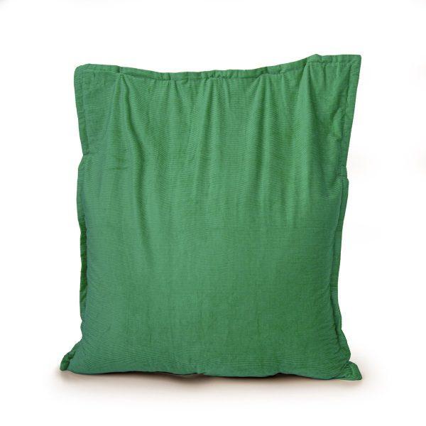 Drop & Sit Zitzak Ribstof - Groen - 100 x 150 cm - Voor Binnen