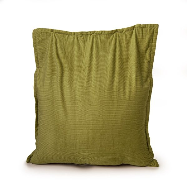 Drop & Sit Zitzak Ribstof - Pickle - 100 x 150 cm - Voor Binnen