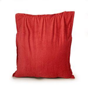 Drop & Sit Zitzak Ribstof - Rood - 100 x 150 cm - Voor Binnen