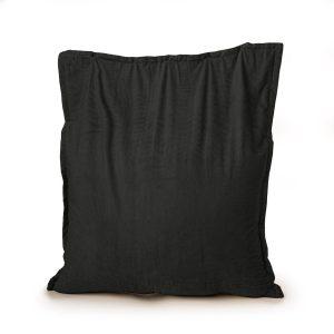 Drop & Sit Zitzak Ribstof - Zwart - 100 x 150 cm - Voor Binnen