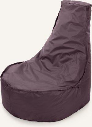 Drop & Sit zitzak Stoel Noa Junior - Aubergine - 100 liter