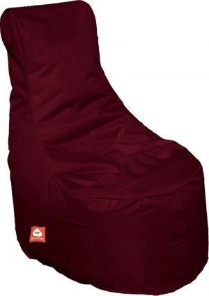 Whoober Zitzak stoel Nice outdoor bordeaux rood - Wasbaar - Geschikt voor buiten