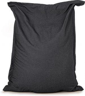 Zitzak Drop & Sit Spijkerstof - 130 x 150 - Zwart