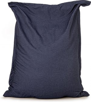 Zitzak Drop & Sit Spijkerstof - 130 x 150 cm - Blauw