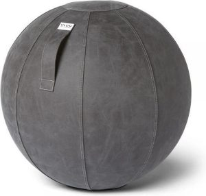 VLUV VEGA - Zitbal - Donker Grijs - Ø 65cm